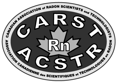 Canadian Association of Radon Scientists and Technologists  (CARST) logo
