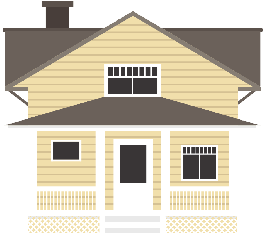 House illustration logo for The Home Inspection Company